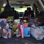Donated Gifts in Route