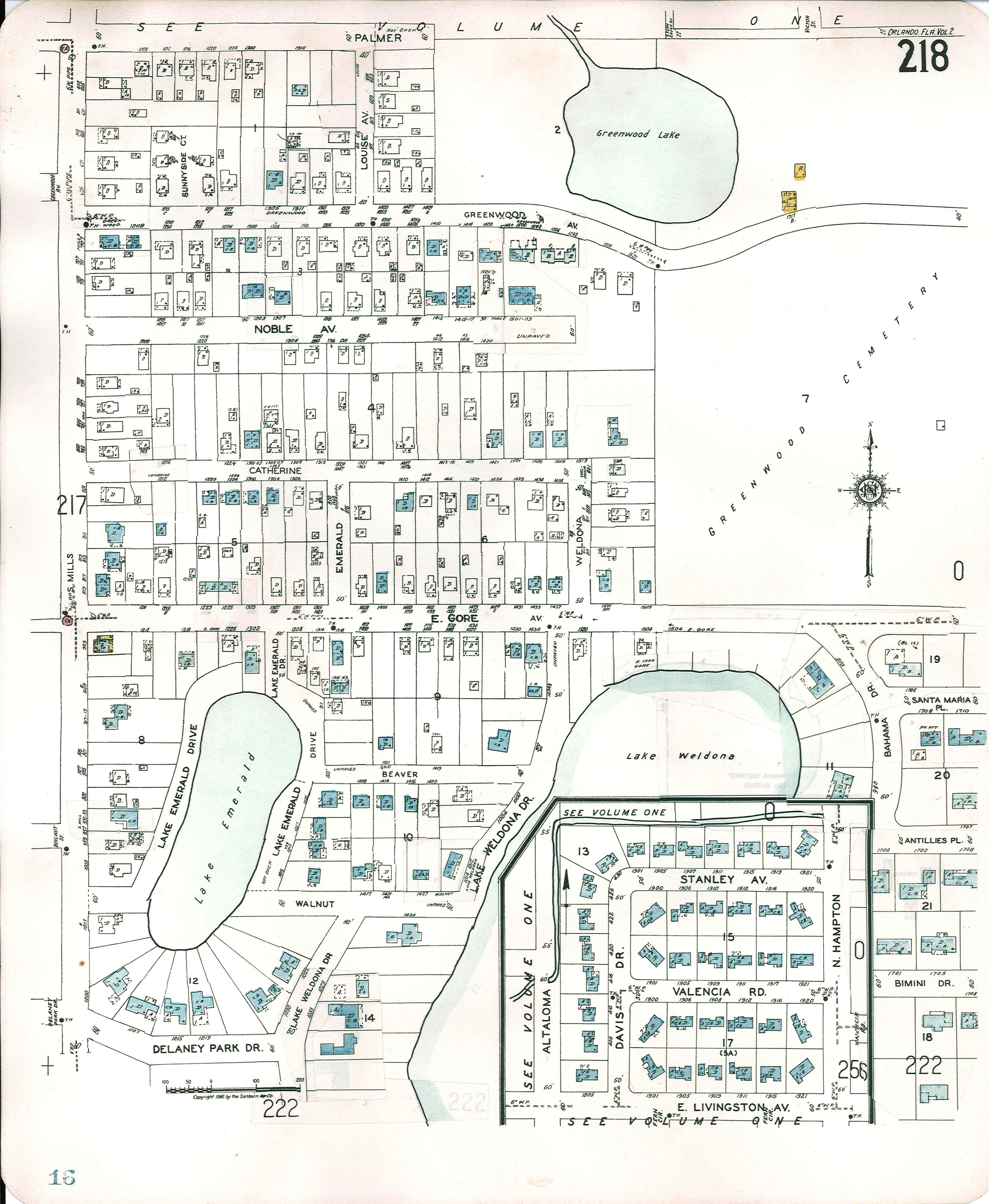 Historic Sanborn Map provided by the City