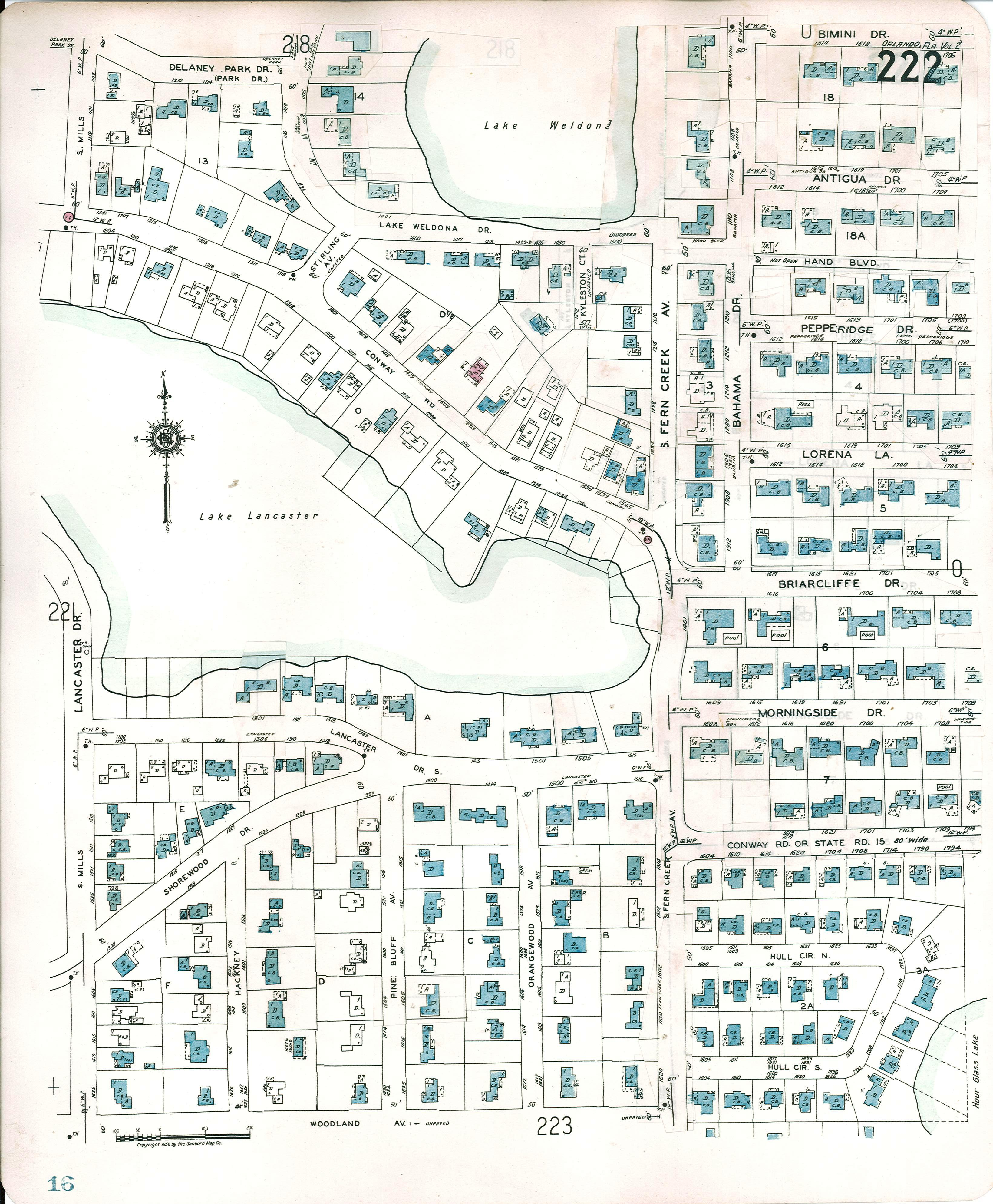 Sanborn Map provided by City