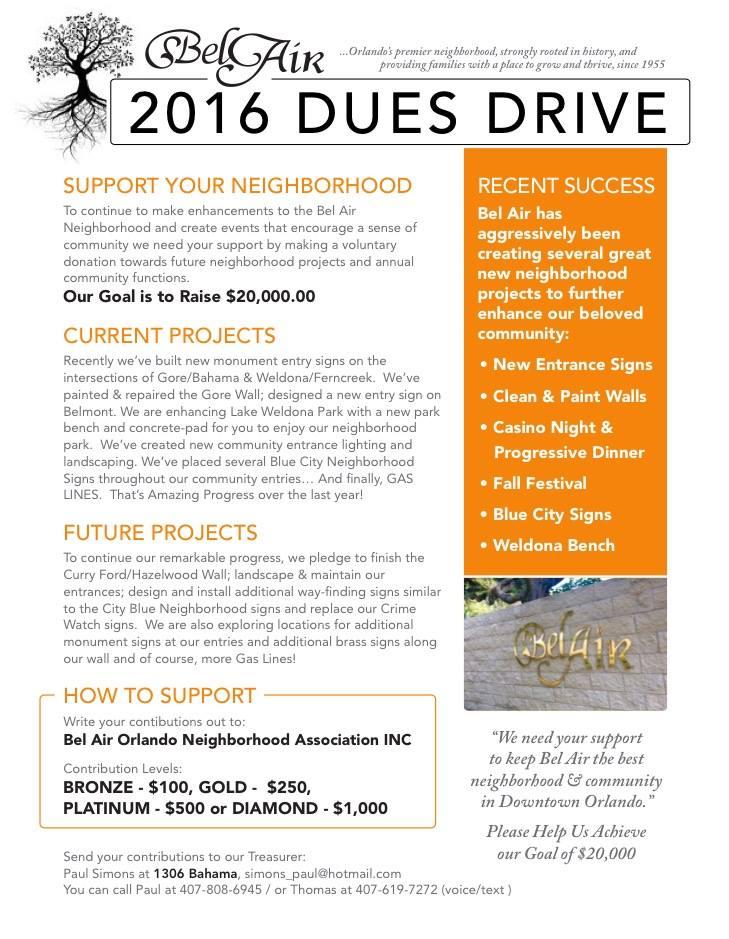 bel air 2016 fundraiser