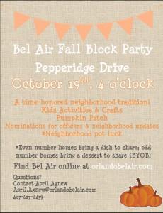 2013 Fall Block Party